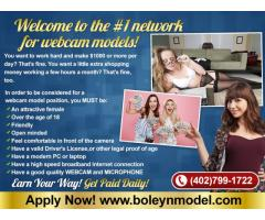 Webcam Models Get Paid Daily